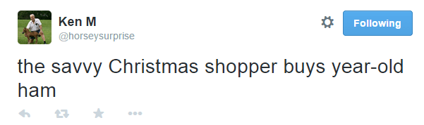 Ken M Christmas Shopper