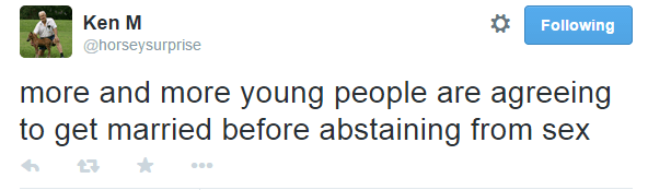 Ken M Tweets Young People