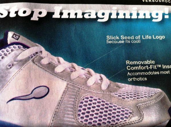 Sperm Shoes