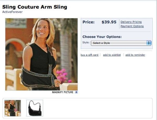 Stylish Arm Sling