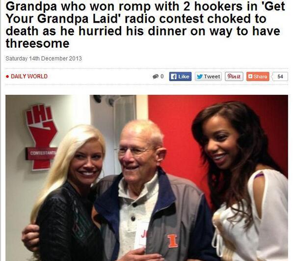 Bad Luck Grandpa