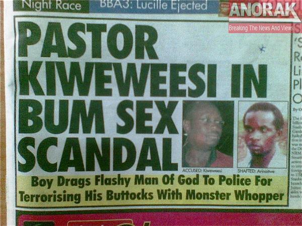 Bum Sex Scandal