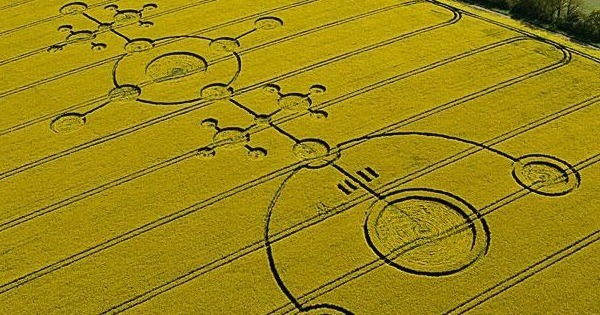 How Do You Explain The Presence Of Crop Circles?
