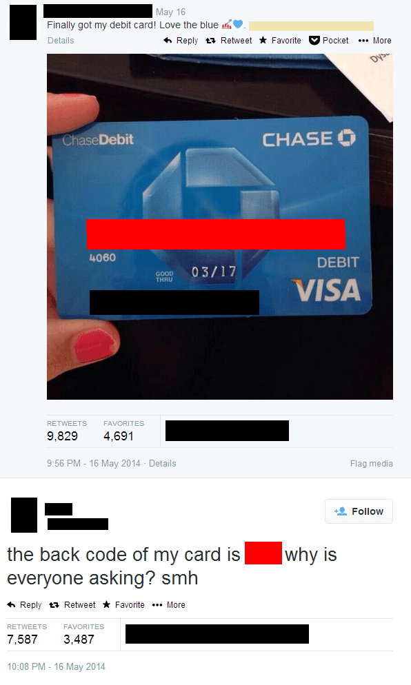 Debit Card Fail