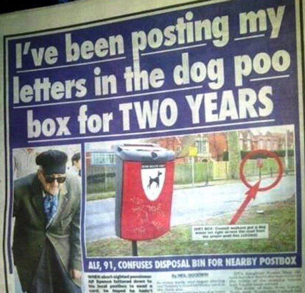 Dog Poo Letters