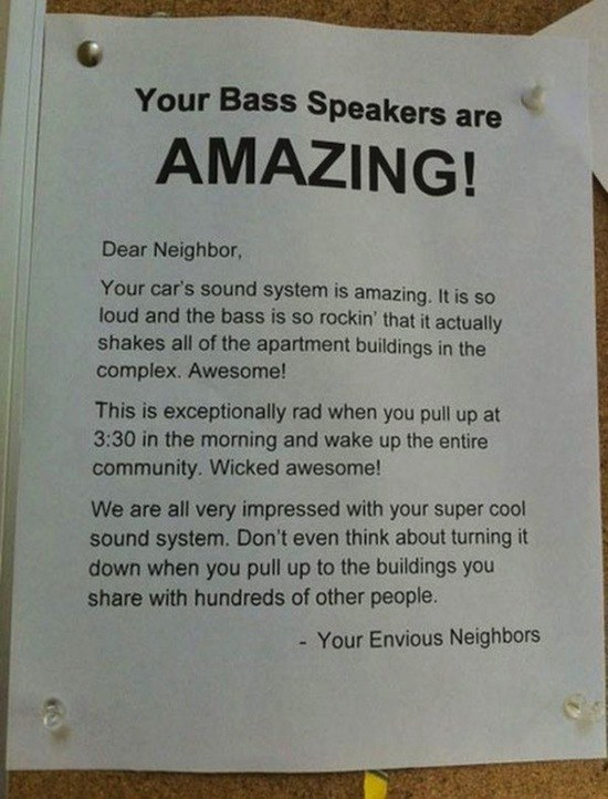 Envious Neighbors