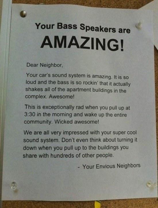 Envious Neighbors