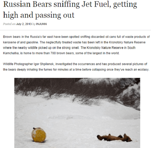Funny Newspaper Headlines Russia