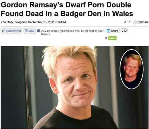 Gordon Ramsay Dwarf Double