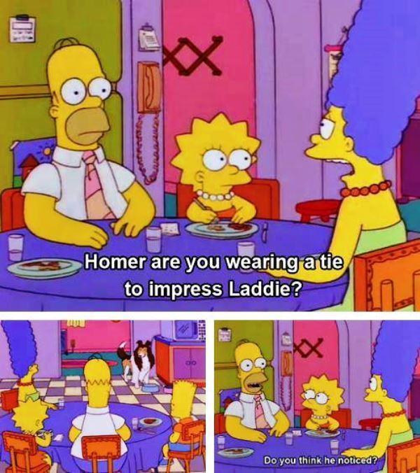 Impressing Laddie