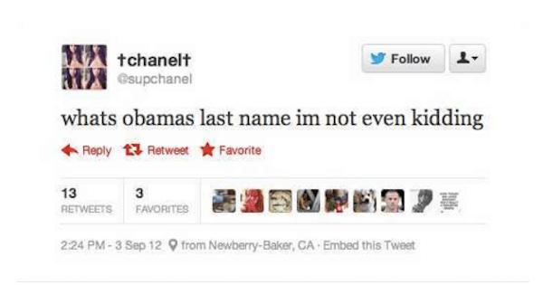 Last Name Obama