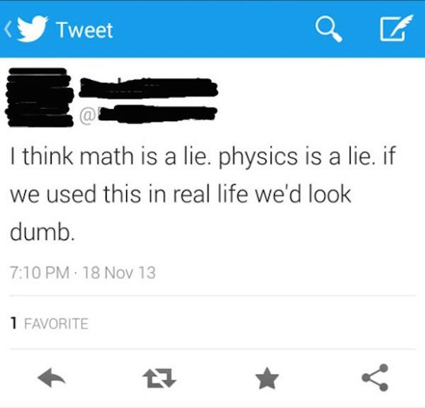 Math Is A Lie