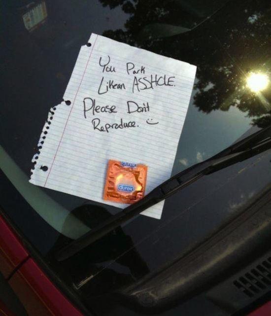 Parking Condom