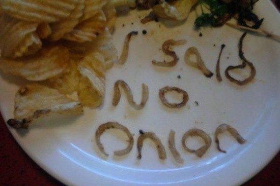 Passive Aggressive Notes Onions