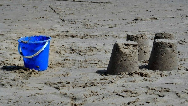 Sandcastles And Bucket