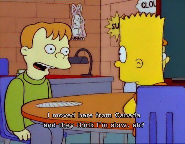 Simpsons Canada