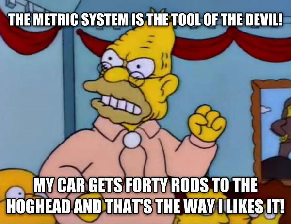 Simpsons Quotes Metric System