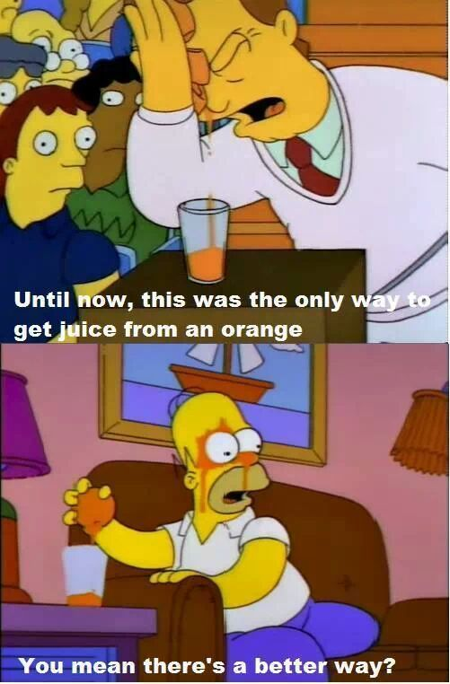 Simpsons Quotes Orange Juice
