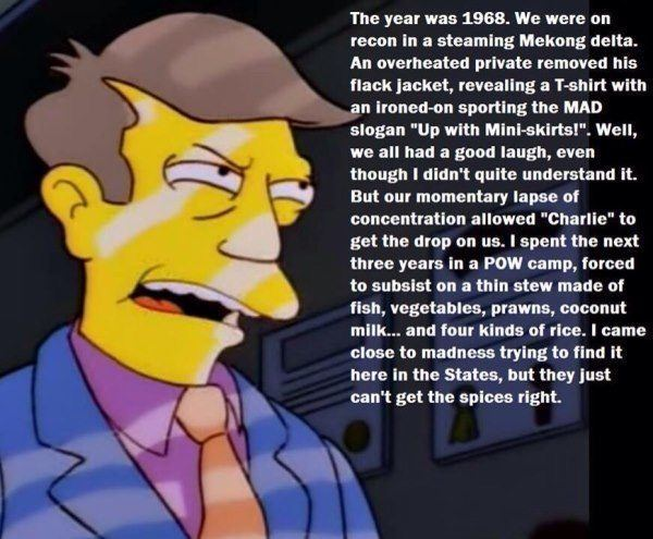 Simpsons Quotes Skinner Vietnam