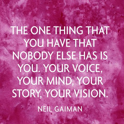 Your Mind Your Story Your Vision