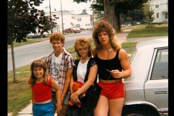 1980s Family Photo