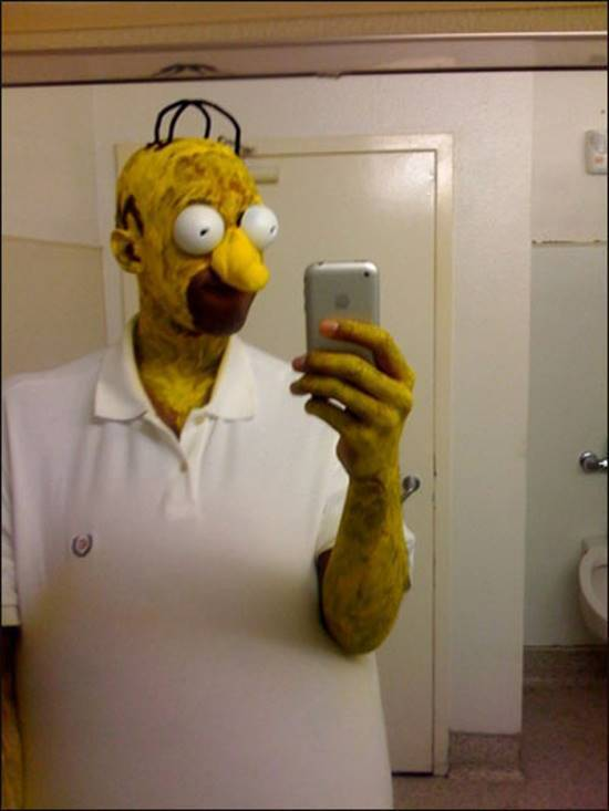 Cosplay Gone Terribly Wrong Homer Simpson
