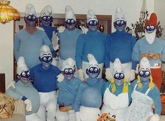 Creepy Smurfs