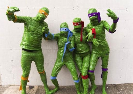 Duct Tape Ninja Turtles