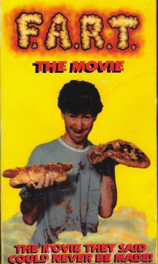 Fart The Movie Strange VHS Covers