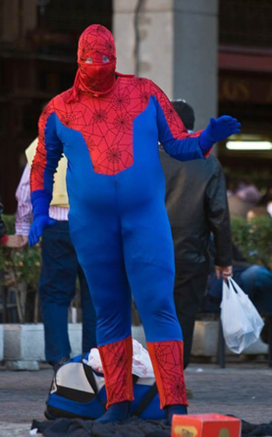 Portly Spiderman
