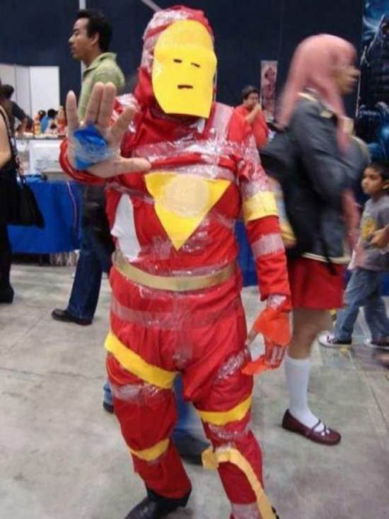 Sad Iron Man