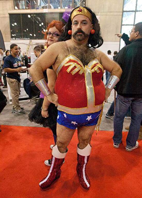 Scary Wonder Woman