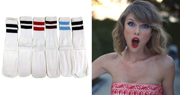 Taylor Swift Purchases Tube Sock Manufacturer