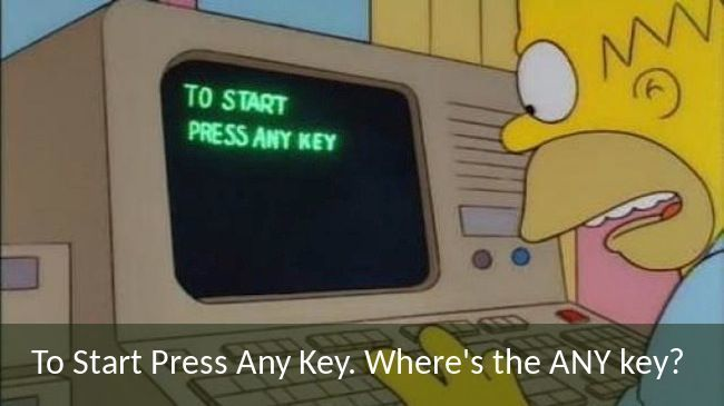 Any Key Homer Simpson Quotes