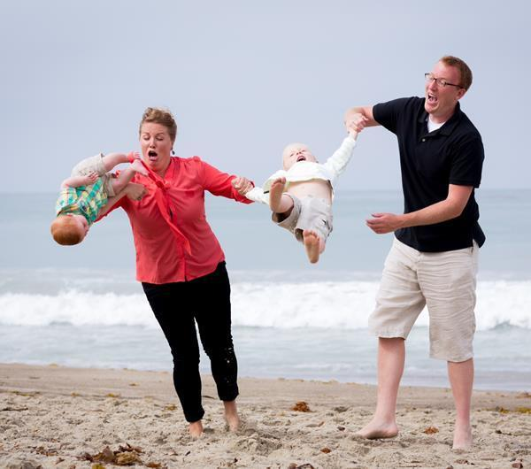 Baby Throwing