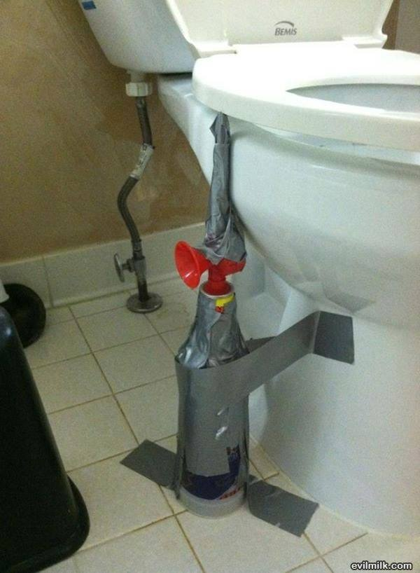 Bathroom Prank