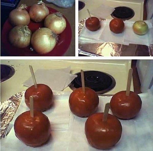 Caramel Onions
