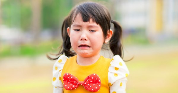 Your child has just fallen off of the swings and started crying. How do you console them?