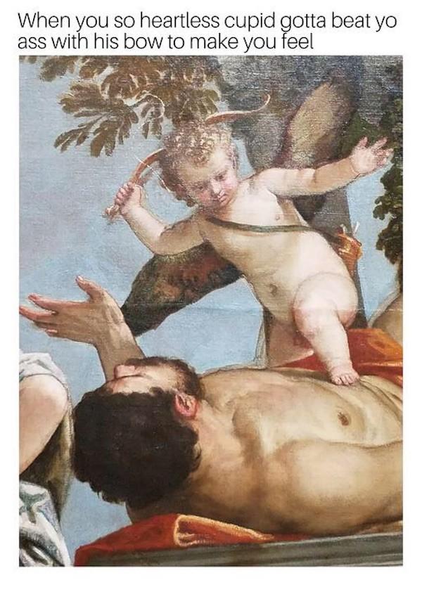 Cupid Beating