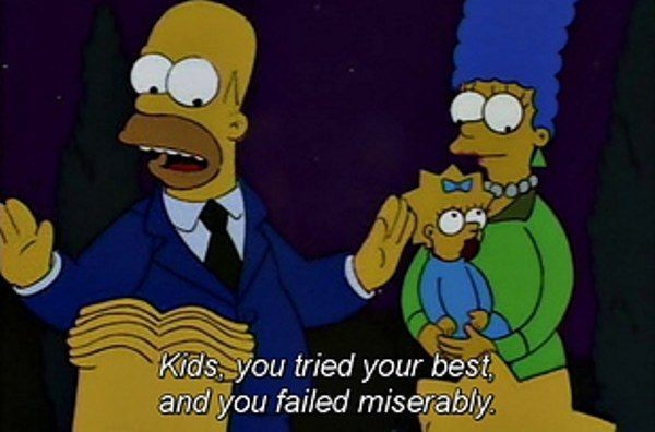 Failed Miserably