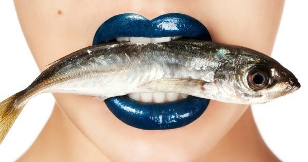 Fish In Mouth