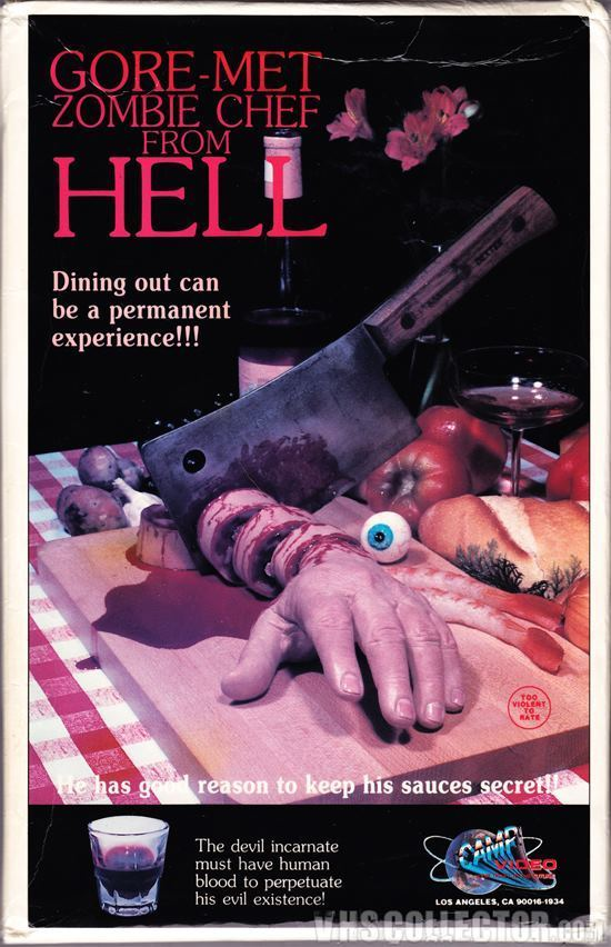 Gore-Met Zombie Chef From Hell