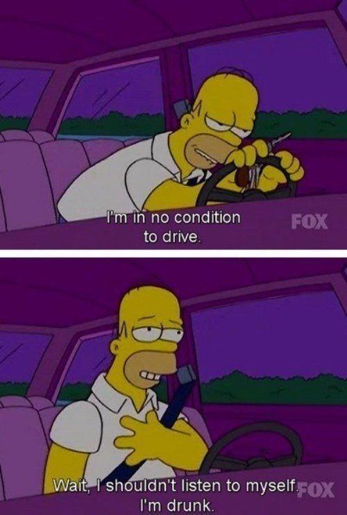 Homer Drunk Driving