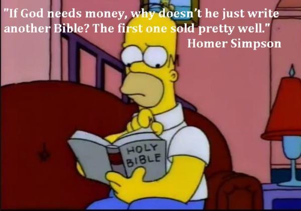Homer Simpson Bible Quote