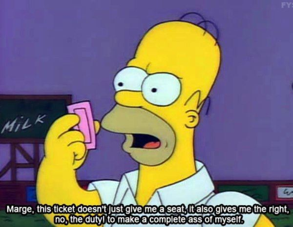 Homer Simpson Quotes Sporting Events