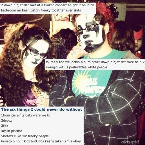 Juggalos Of OKCupid 2 Ninjaz