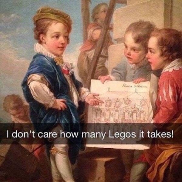Make Me Legos