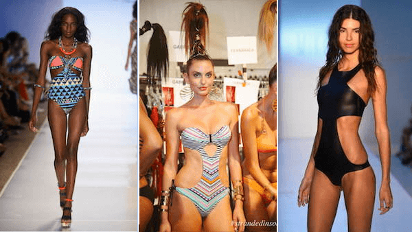 Cut Out One Piece Summer 2015 Swimwear Mara Hoffman Dolores Cortes MIKOH Fashion