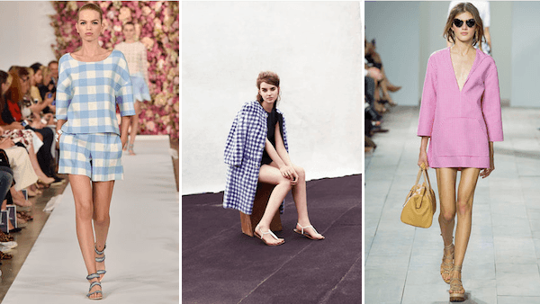 Rehab Style Guide Gingham Spring 2015 Style Trend