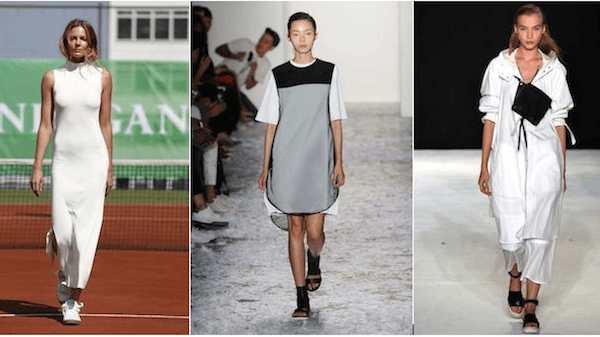 Sporty Minimalism Spring 2015 Trends Black And White Ganni Public School Rag & Bone